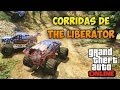 [GTA Online] Corrida com MONSTER TRUCK! (The Liberator)