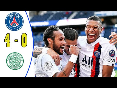 Neymar Best Skill 🔥 PSG 4-0 All Goals & Highlights 2020 HD