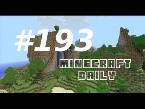 Minecraft Daily 06/02/12 (193) – Super Bowl Minigame! Pig Powered Racing! Epic Minequest!