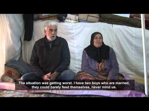 Iraq: Separated Syrian Families