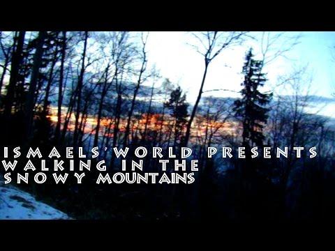 Walking in the Snowy Mountans (видео)