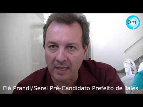 Jales - Flá Prandi diz que será pré-candidato à Prefeito de Jales, e o vice quem será?