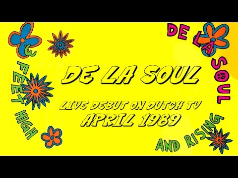 De La Soul live on Dutch TV Show (1989)