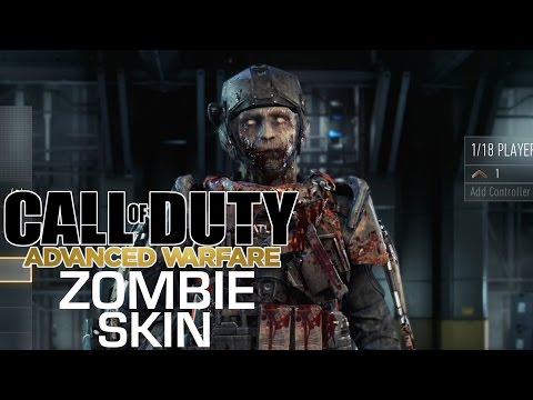 comment debloquer skin zombie advanced warfare