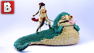LEGO Jabba the Hutt and Slave Leia  Top 10 MOCs! Weekly Moc N...
