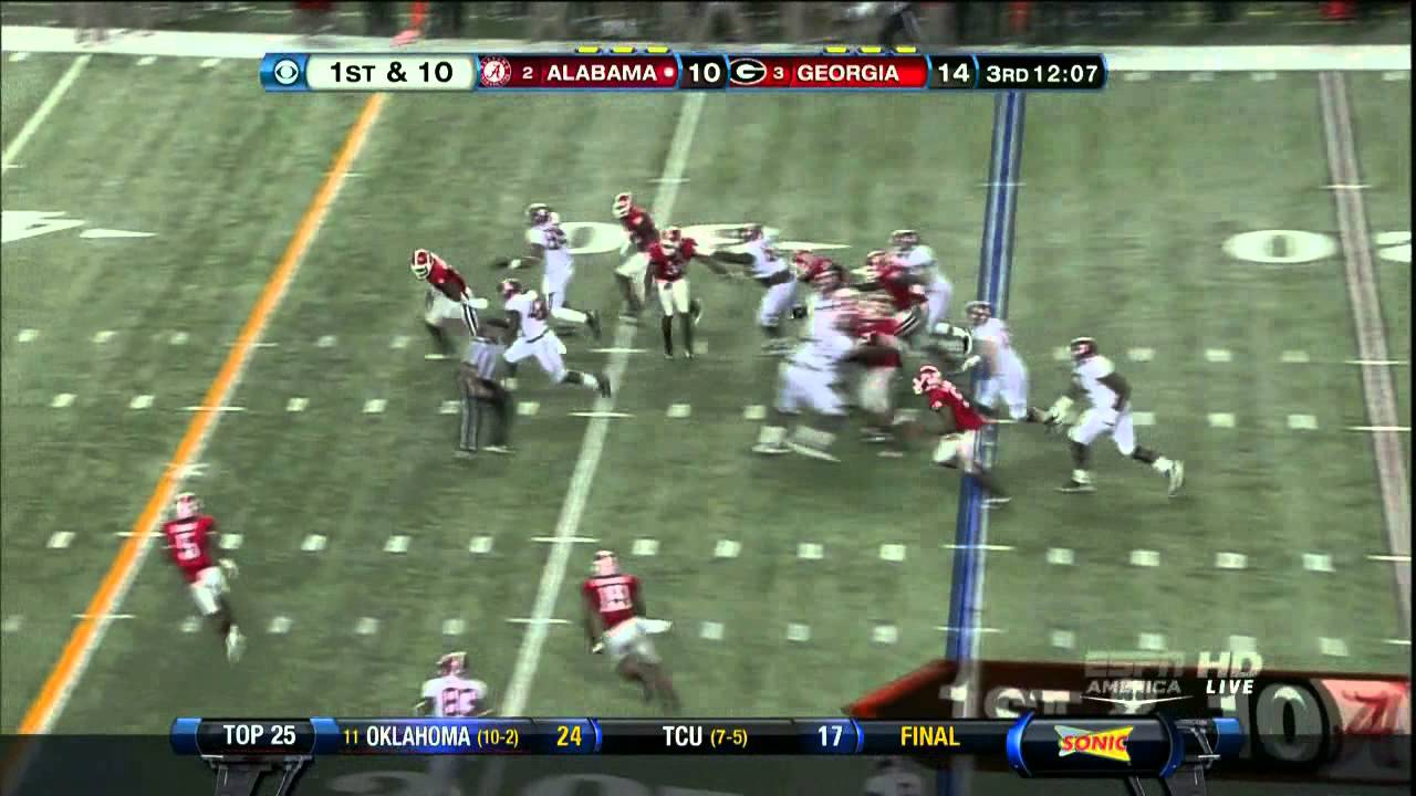 Bacarri Rambo vs Alabama (2012)
