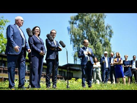 Positive Bilanz: Große Koalition nach Treffen gegen Ste ...