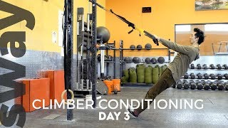 10 Minute Workout For Climbers | Day 3 | Climb With Sway by  WeDefy