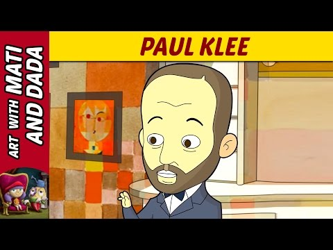 Art with Mati and Dada –  Paul Klee | Kids Animated Short Stories in English