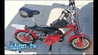 Video homemade mini bike 49cc MP3, 3GP, MP4, WEBM, AVI, FLV Mei 2019