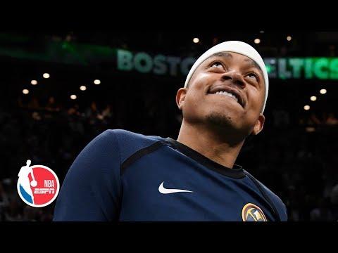 Celtics honor Isaiah Thomas with tribute video   NBA on ESPN