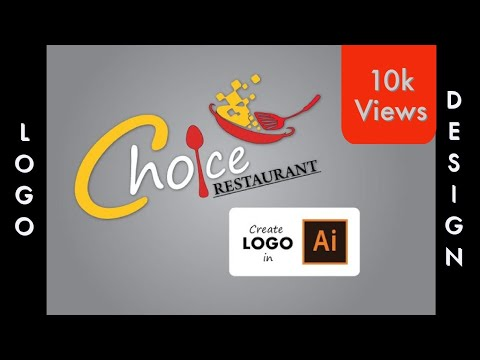 Create A Restaurant Logo In Adobe Illustrator CS6.
