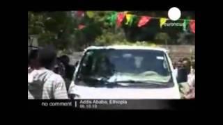 Ethiopia's Tyrant Meles Zenawi And Birtukan Mideksa: Ethiopians Difeated Zenawi!