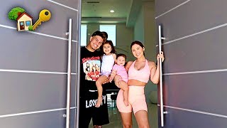 OUR FIRST NIGHT AT THE NEW ACE FAMILY HOUSE!!! **FINALLY**