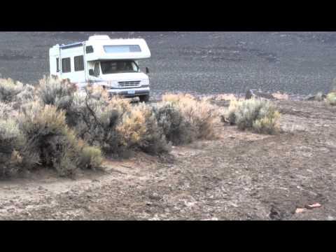 Somewhere In Nevada - Motorhome Mud Bog.mov