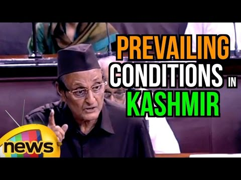 Dr Karan Singh Full Speech Over Prevailing Conditions in Kashmir