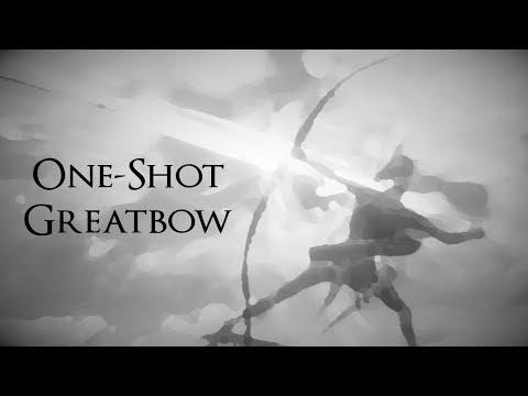 One-shot Greatbow (commentary) - Dark Souls 3