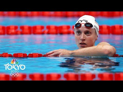 Katie Ledecky looks DOMINANT in 1500m free heat win | Tokyo Olympics | NBC Sports