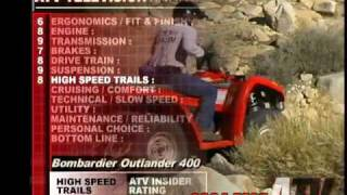6. ATV Television QuickTest - 2004 Can Am Outlander 400 4x4