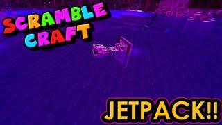 SWIMMING CREEPER AND NEW JETPACK!? - Scramble Craft (Minecraft)