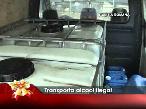 Transporta alcool ilegal