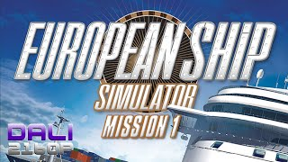 European Ship Simulator Early Access Mission 1 PC 4K Gameplay 2160p