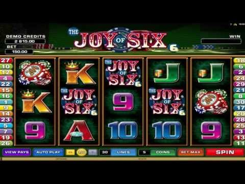 The Joy of Six  ™ free slot machine game preview by Slotozilla.com