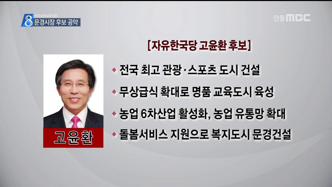 R)문경시장 후보 공약 점검