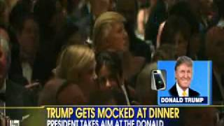 Video Donald Trump Responds To Obama & Seth Meyers Roasting Him At Dinner! MP3, 3GP, MP4, WEBM, AVI, FLV April 2018