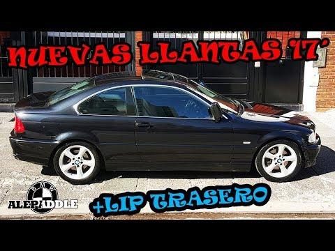 Coloque las LLANTAS 17 + LIP TRASERO !! Bmw E46 328ci #Alepaddle