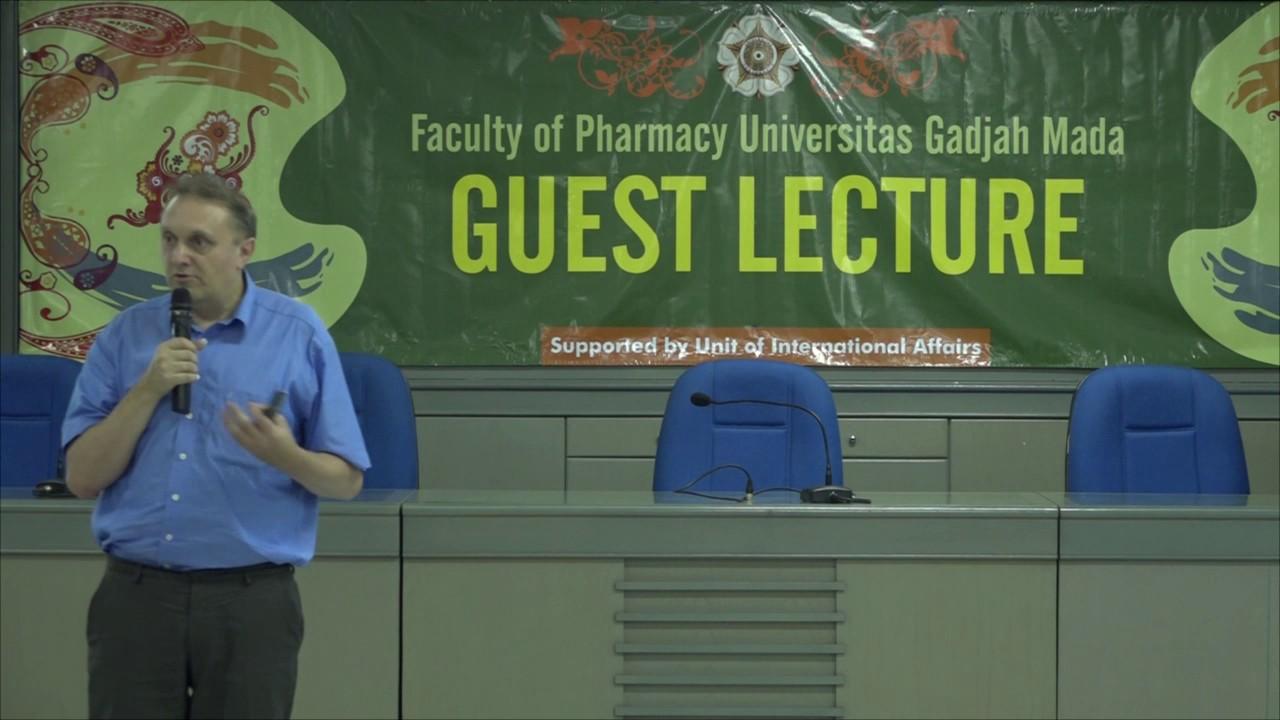 Kuliah Tamu Prof. Hubertus Irth: Challenges in drug discovery and development