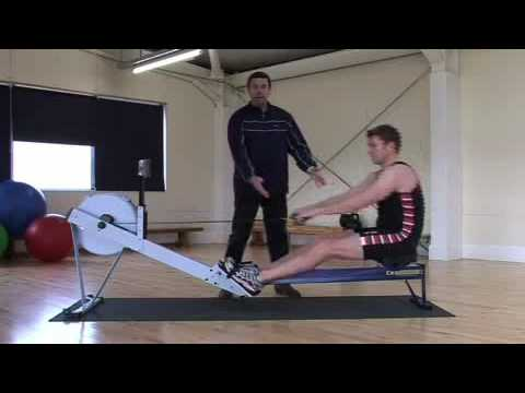 row - How to use proper technique on the Concept2 rowing machine with coach Lubo Kisiov.