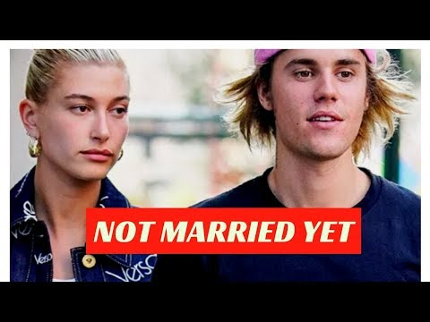 Hailey Baldwin Says She And Justin Bieber Are 'Not Married Yet'