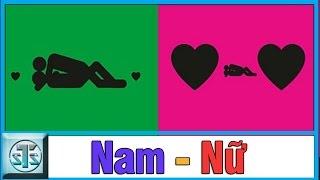 So sánh sự khác biệt giữa NAM GIỚI và NỮ GIỚI, sự khác nhau, su khac nhau giua, haivl