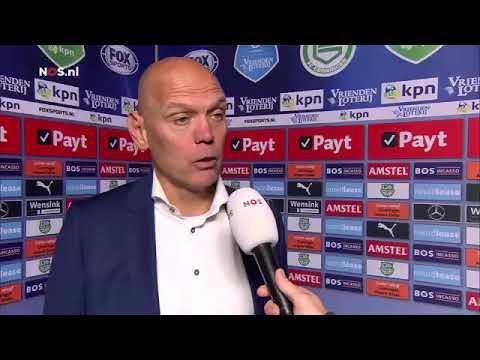 Streppel na FC Groningen - SC Heerenveen