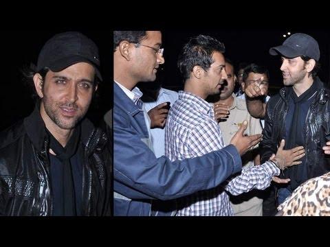 Fans Surround Hrithik Roshan On His 39th Birthday