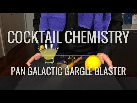 How to Make the Pan Galactic Gargle Blaster Cocktail from Hitchhiker s Guide To The
