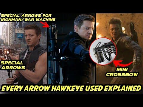 Every Arrow Hawkeye Used in MCU