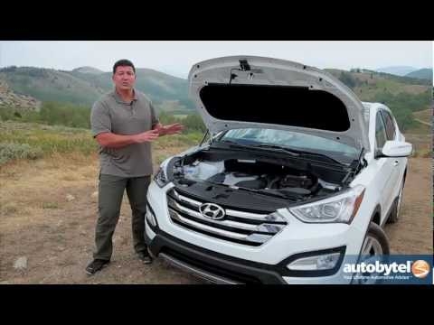 2013 Hyundai Santa Fe Sport Test Drive & Crossover SUV Video Review
