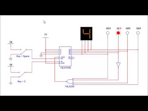Integrated Synchronous Counter 74193