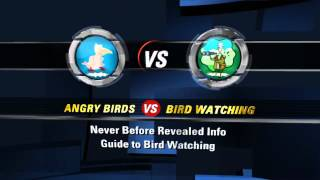 Angry Birds vs Bird Watching YouTube video