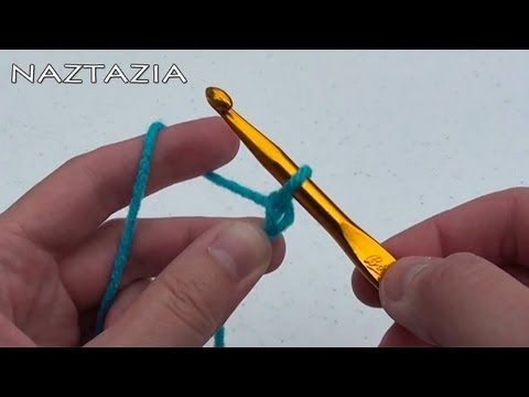 How To Crochet For Beginners - Easy And Simple Tutorial By Naztazia
