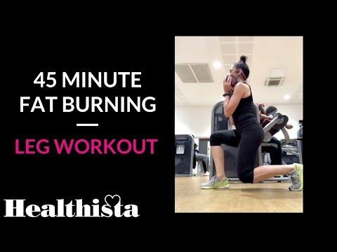 Fat burner - 45-Minute Fat Burning, Leg Workout
