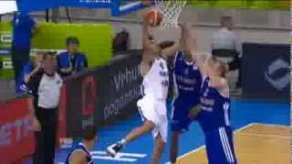 Dunk of the Game L. Eliyahu Israel-Great Britain EuroBasket 2013