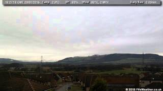 20 January 2016 - Lochgelly WeatherCam Timelapse