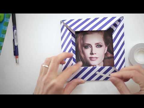 Cornice fai da te per fotografie per bambini: lavoretto creativo