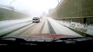 Noranda (QC) Canada  city pictures gallery : winter's roads. Rouyn-Noranda, Québec Canada, 2016-02-29
