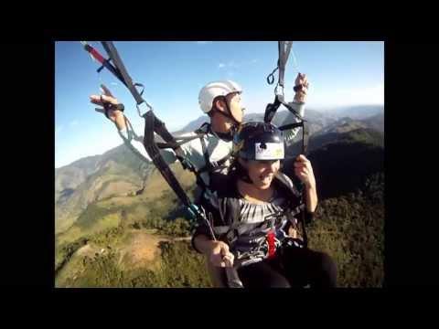 Gladison Tamer e Marisa de Carvalho voando em Miguel Pereira!!!