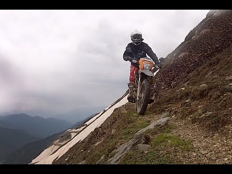 himalayan - Dirt Action magazine's Adam Riemann captures never before seen footage, riding cliff-edge trails through India's military stronghold and surviving monsoon fl...