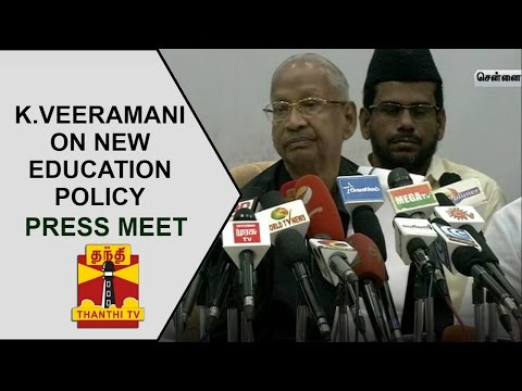 K-Veeramanis-Press-Meet-On-Centres-New-Education-Policy-Thanthi-TV